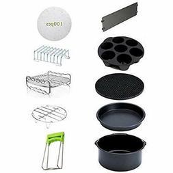 10PCS Deep Fryer Parts & Accessories 8 Inch Air For 5.3-5.8Q