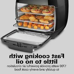 Hamilton Beach 11 Liter Power Air Fryer Oven with Rotisserie