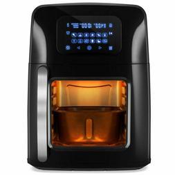 12.4 qt XL Air Fryer Oven Rotisserie, Dehydrator w/12 Preset