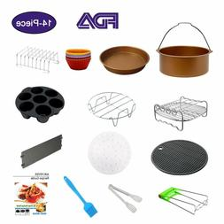 """""""14pcs Air Fryer Accessories 8 inch XL,for Gowise Phillips C"""