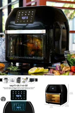 Best Choice Products 16.9Qt 1800W 10-In-1 Family Size Air Fr