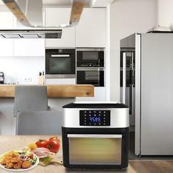ZOKOP 16L Multi-function 1800W 16.9QT Air Fryer Oven Dehydra
