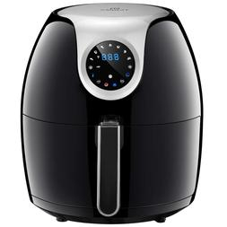 1700w Extra Large Deep Air Fryer LCD Display Temperature Con