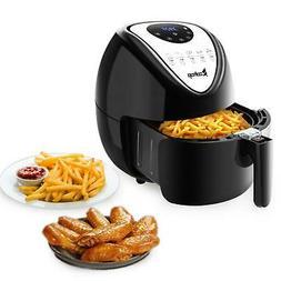 ZOKOP 1800W 6.8QT XL Electric Air Fryer Healthy Low-Fat Oill