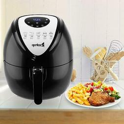 1800W Extra Large Deep Air Fryer LCD Display Temperature Con