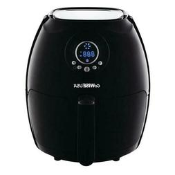GoWISE USA  2.75 Qt. Air Fryer Black Fryer with Double Layer
