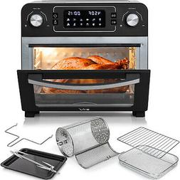 Deco Chef 24QT Air Fryer Countertop Toaster Oven Rotisserie
