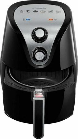 Insignia - 3.2L Analog Air Fryer - Black Little To No Oil Fa