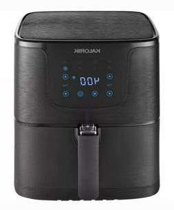 Kalorik 3.5-Quart Air Fryer Black Matte 1500 Watt Touchpad C