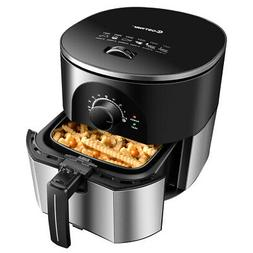 3.5 Quart Electric Stainless Steel Air Fryer Oven Smokeless