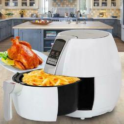 Zeny 3.7 qt Digtal Air Fryer w/ LCD Touch Screen & 8 Cooking