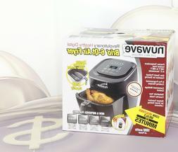 NuWave 37001 6-Qt 1800W Digital Air Fryer New #D3