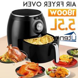 5.5L Uten Digital Frying Cooker Air Fryer Electric Oven Oil