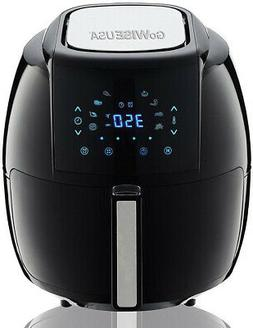 GoWISE USA 5.8 Qt. Electric Air Fryer Touch Screen with 8-Co