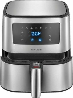 Insignia- 5-qt. Digital Air Fryer - Stainless Steel