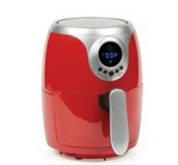 Copper Chef Air Dryer Red 2 Qt compact design  400 degree co