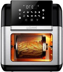 Innsky Air Fryer, 10.6-Quarts Air Oven, Rotisserie Oven, 150