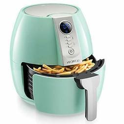 Air Fryer, 4.2 Quart  Electric Hot Air Fryers Oven Oilless C
