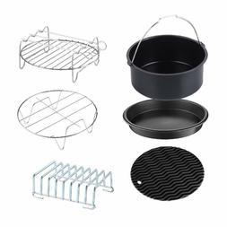 Air Fryer Accessories 6-PC Kit For XL Air Fryers 5.8QT GoWIS