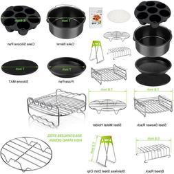 Air Fryer Accessories Set For 3.7, 5.3, 5.5, 5.8 Qt,8 Pieces
