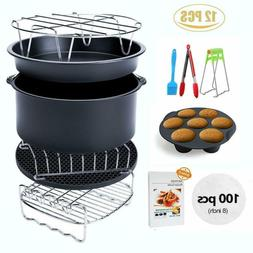 Air Fryer Accessories XL 12 sets, For Phillips power air fry