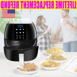 Air Fryer Cooker with Rapid Air Circulation System Low-Fat B