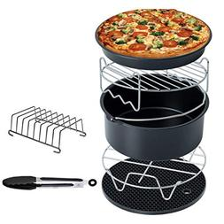 SODIAL Air Fryer Accessories Deep Fryer Universal, Cake Barr
