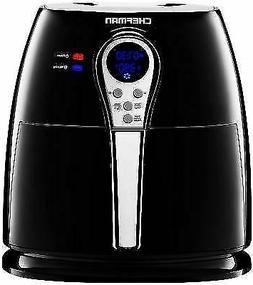 Chefman Air Fryer with Digital Display Adjustable Temperatur
