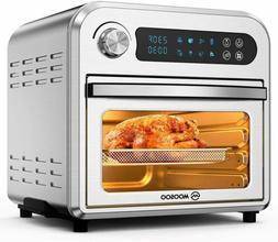 12.7QT Large Capacity MOOSOO Air Fryer Oven 1700W 8-in-1 LED