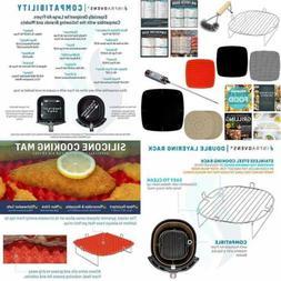 Air Fryer Rack Accessories Compatible Chefman Cosori Habor G