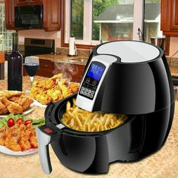 Ampblue S-H01-7028A-1 1500W Touch Screen Electric Air Fryer