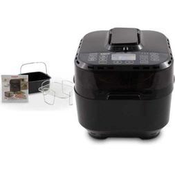 NuWave Brio Digital Air Fryer  with 2-piece Cooking Set