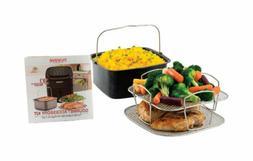 NuWave 2-piece Cooking Set for Brio Digital Air Fryer