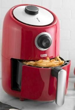 Dash Compact 2 Quart Air Fryer in RED 1000 W. Inc Recipe Gui