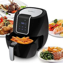 Digital Air Fryer 5.6 Qt XXL - 1800 Watt Power Electric Oill