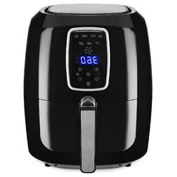 Digital Air Fryer Large 5.5 Quart Kitchen Appliance Oil Free