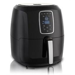 emerald electric air fryer with led touch display- 52l capac