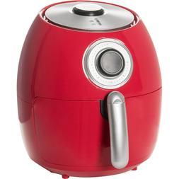 Dash Family Size Red Air Fryer - 6 Quart - Air Crisp Technol