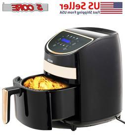 5 Core Hot Air Fryer Oven 3.2 QT Quarts Electric Oil Less 10