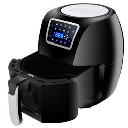 1700W Extra Large Deep Air Fryer LCD Display 6.3Qt 8 Presets