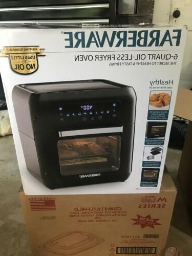 05105 6 qt digital air fryer oven