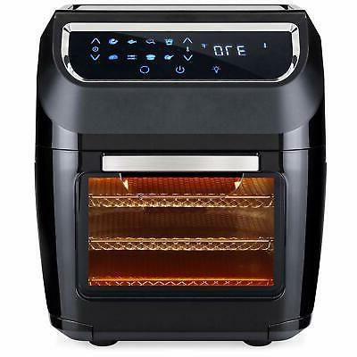 11.6Qt XL Power Air Fryer Oven Plus 8in-1 Cooking Features w
