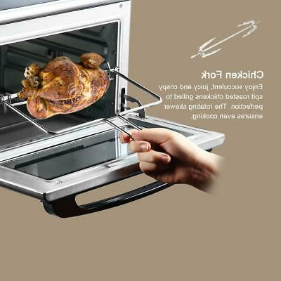 Zokop Toaster Convection Rotisserie