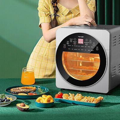 16-in-1 Air Fryer 15.5 QT Toaster Dehydrator Rotisserie w/