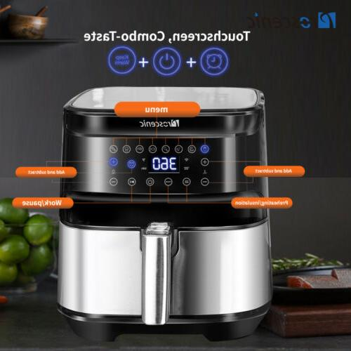 1700W Fryers Oven LED Screen Nonstick