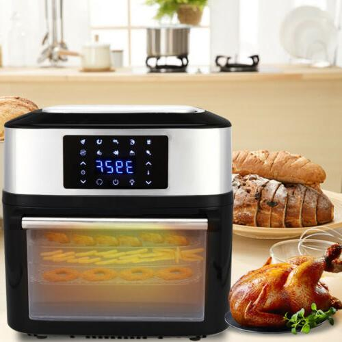 1800W 16L Big XL Air Fryer All-In-One Plus Grill Home