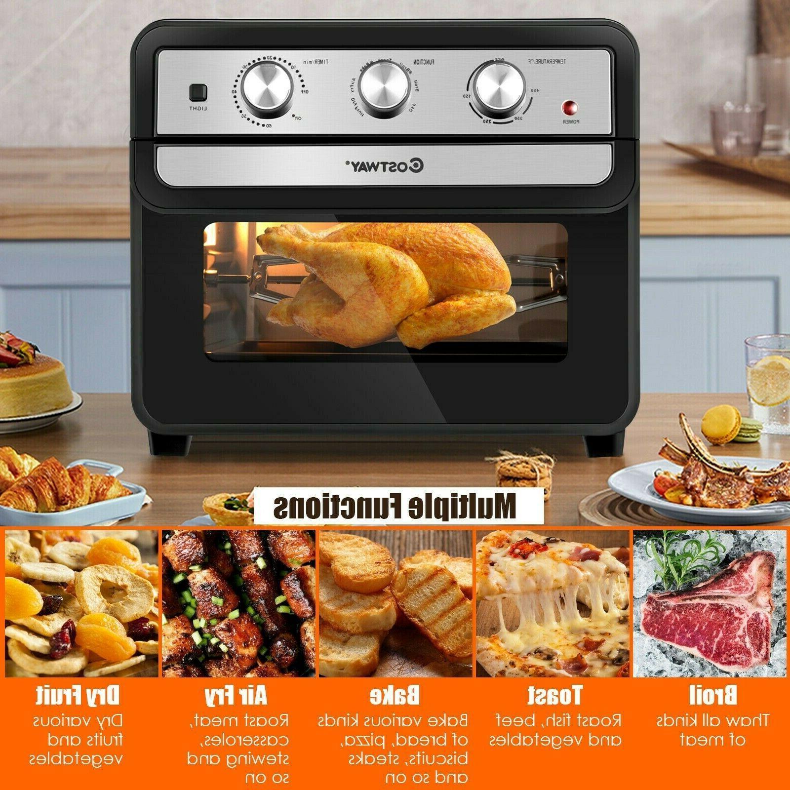 23QT Air Countertop Toaster Rotisserie Rack