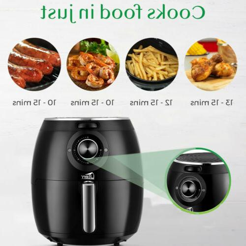 5.5L Uten Digital Cooker Air Oven Oil Kitchen