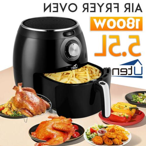 5 5l digital frying cooker air fryer