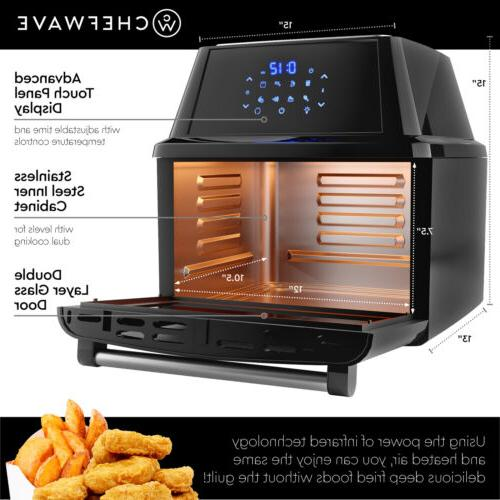 ChefWave Air Fryer/Oven/Rotisserie/Dehydrator Accessories